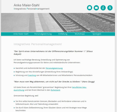 Anke Maier-Stahl - Integratives Personalmanagement